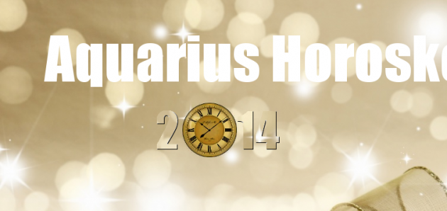 Aquarius – Horoscope 2014
